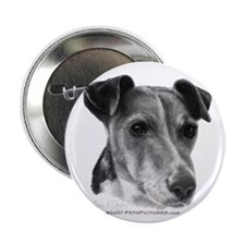 """Smooth Fox Terrier 2.25"""" Button (100 pack)"""