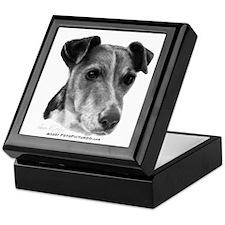 Smooth Fox Terrier Keepsake Box