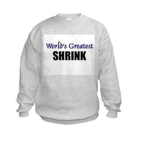 Worlds Greatest SHRINK Kids Sweatshirt