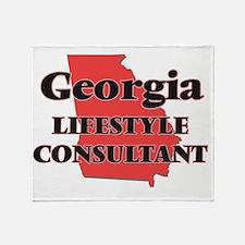 Georgia Lifestyle Consultant Throw Blanket
