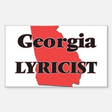Georgia Lyricist Decal