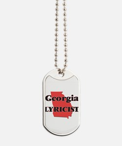 Georgia Lyricist Dog Tags