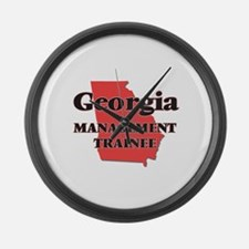 Georgia Management Trainee Large Wall Clock