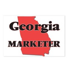 Georgia Marketer Postcards (Package of 8)