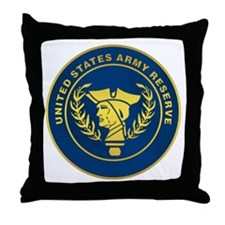Army Reserve Throw Pillow