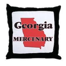 Georgia Mercenary Throw Pillow