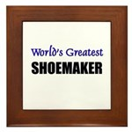 Worlds Greatest SHOEMAKER Framed Tile