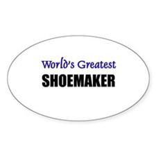 Worlds Greatest SHOEMAKER Oval Decal