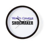 Worlds Greatest SHOEMAKER Wall Clock