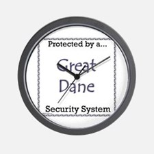Dane Security Wall Clock