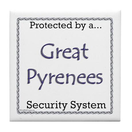 Pyr Security Tile Coaster