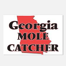 Georgia Mole Catcher Postcards (Package of 8)