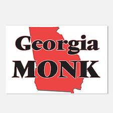Georgia Monk Postcards (Package of 8)