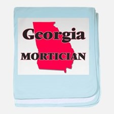 Georgia Mortician baby blanket
