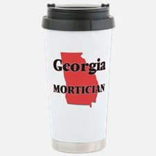 Georgia Mortician Stainless Steel Travel Mug
