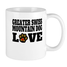 Greater Swiss Mountain Dog Love Mugs