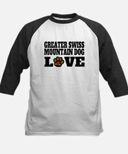 Greater Swiss Mountain Dog Love Baseball Jersey