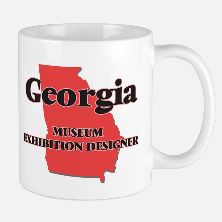 Georgia Museum Exhibition Designer Mugs