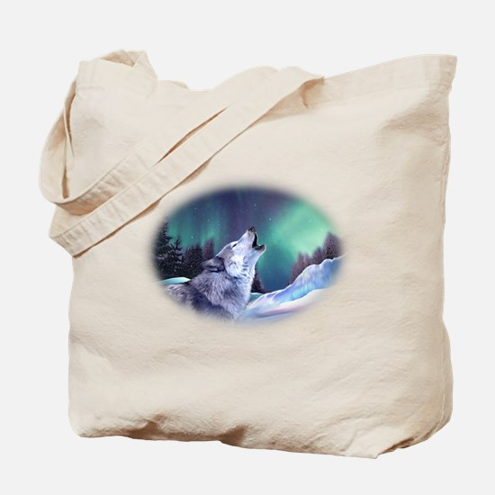 Winter Wolf 2015 Tote Bag