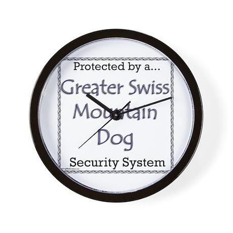 Swissy Security Wall Clock