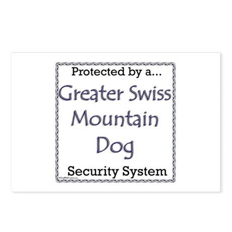 Swissy Security Postcards (Package of 8)