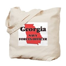 Georgia Navy Forces Officer Tote Bag