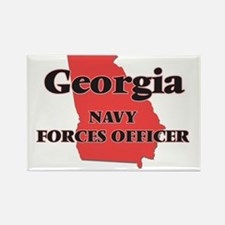 Georgia Navy Forces Officer Magnets