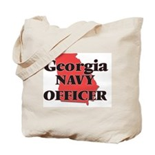 Georgia Navy Officer Tote Bag