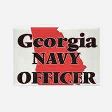 Georgia Navy Officer Magnets