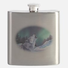 Winter Wolf 2015 Flask