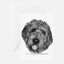 Labradoodle Greeting Cards (Pk of 10)