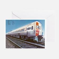 Amtrak Budd Metroliners Greeting Card