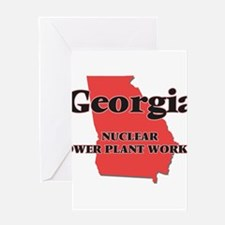 Georgia Nuclear Power Plant Worker Greeting Cards
