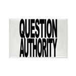 Question Authority Rectangle Magnet (100 pack)
