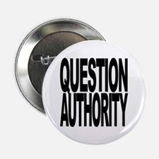 """Question Authority 2.25"""" Button (10 pack)"""