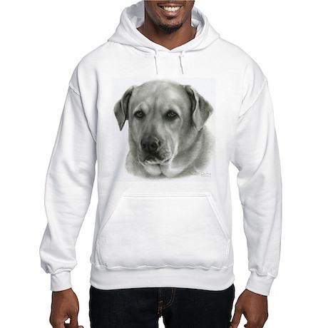 Lindsay - Yellow Lab Mix Hooded Sweatshirt