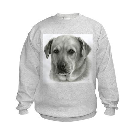 Lindsay - Yellow Lab Mix Kids Sweatshirt