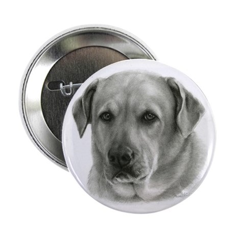 """Lindsay - Yellow Lab Mix 2.25"""" Button (10 pack)"""