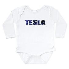 Cool Tesla Long Sleeve Infant Bodysuit