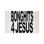 Bonghits 4 Jesus Rectangle Magnet (10 pack)