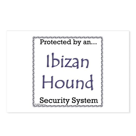 Ibizan Hound Security Postcards (Package of 8)