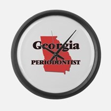 Georgia Periodontist Large Wall Clock