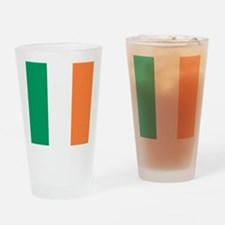 modern ireland irish flag Drinking Glass
