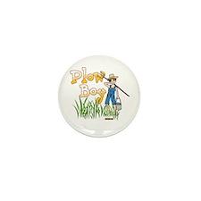 Plow Boy Mini Button (10 pack)