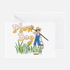 Plow Boy Greeting Cards (Pk of 10)