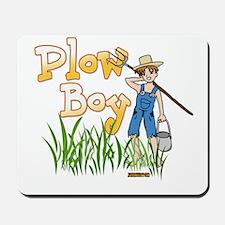 Plow Boy Mousepad