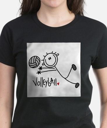 Cute Team volleyball Tee