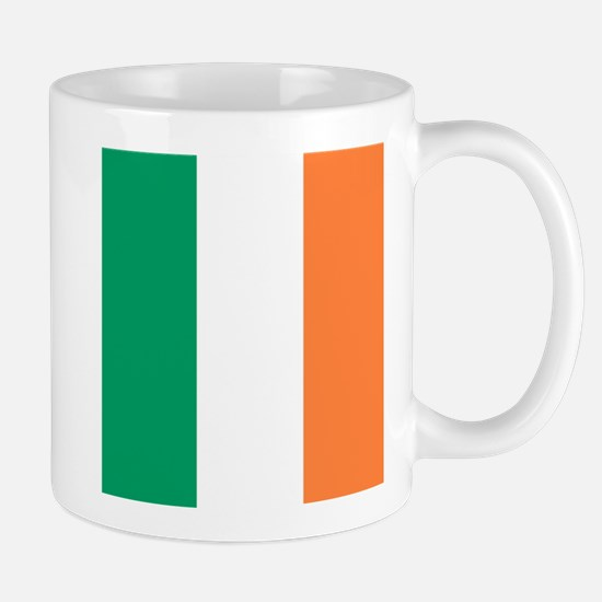 modern ireland irish flag Mugs