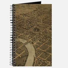 Vintage Pictorial Map of Columbus Ohio (18 Journal