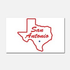 Texas - San Antonio Car Magnet 20 x 12